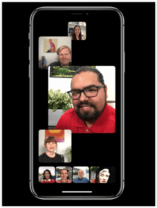 Facetime Group in iOS12