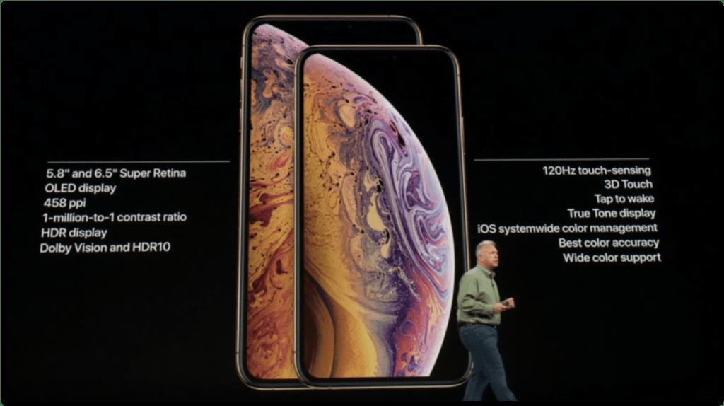 iPhone XS si MAX