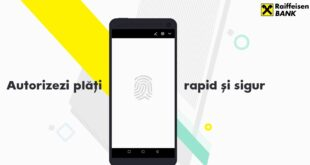 autorizare plati online Raiffeisen biometrie